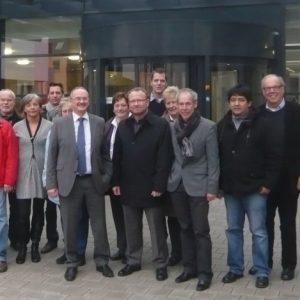 Die SPD-Kreistagsfraktion zu Besuch im Kreisklinikum Siegen.
