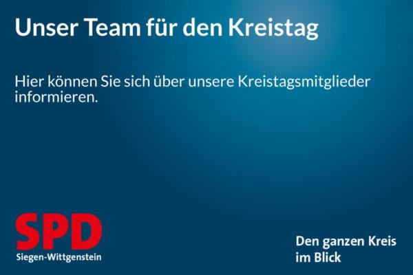 Fraktionsvorstand der SPD-Kreistagsfraktion Siegen-Wittgenstein